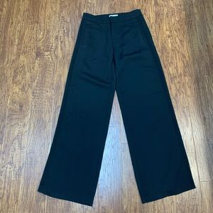 Honey Punch black high waisted wide leg pants NWT